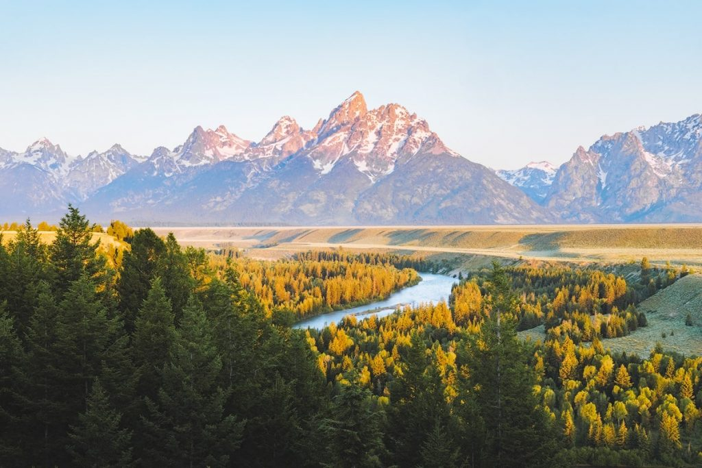 Best National Parks to Visit in Summer - Grand Teton National Park Snake River Overlook