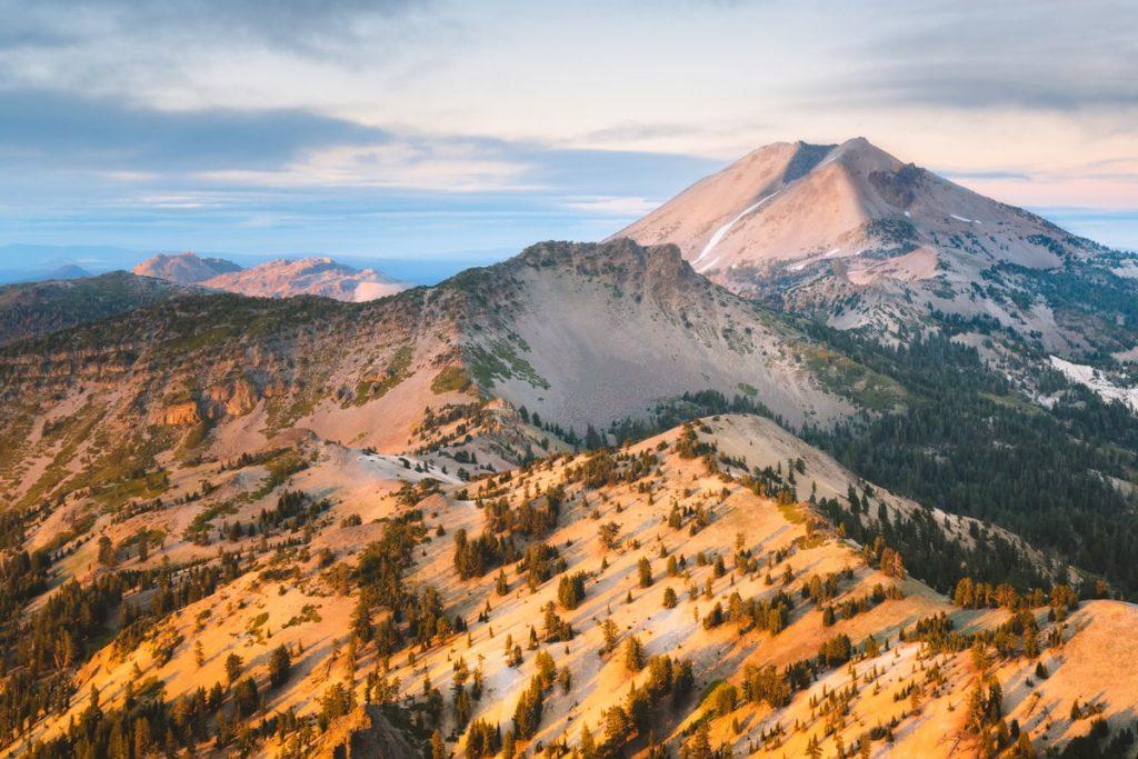 Lassen Volcanic Lassen Peak