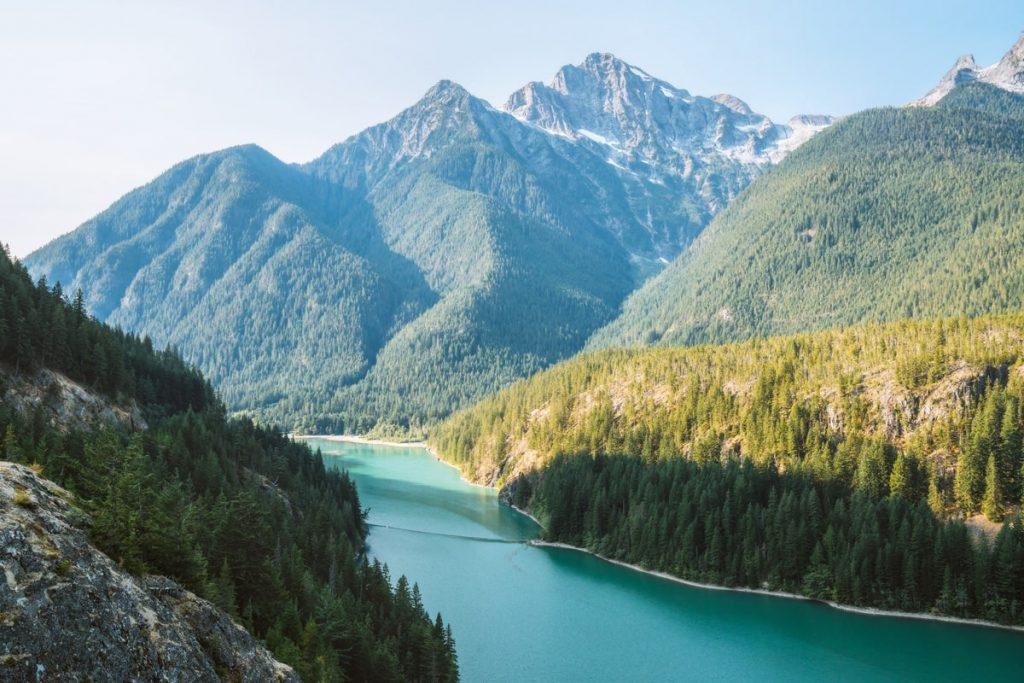 Best National Parks to Visit in Summer - North Cascades National Park Diablo Lake