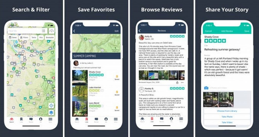 Best Road Trip Planner Apps to Help You Find Free Campsites and Hiking Trails - The Dyrt