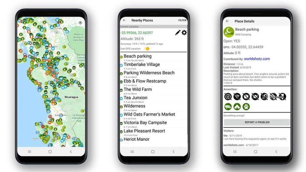 Best Road Trip Planner Apps to Help You Find Free Campsites - iOverlander
