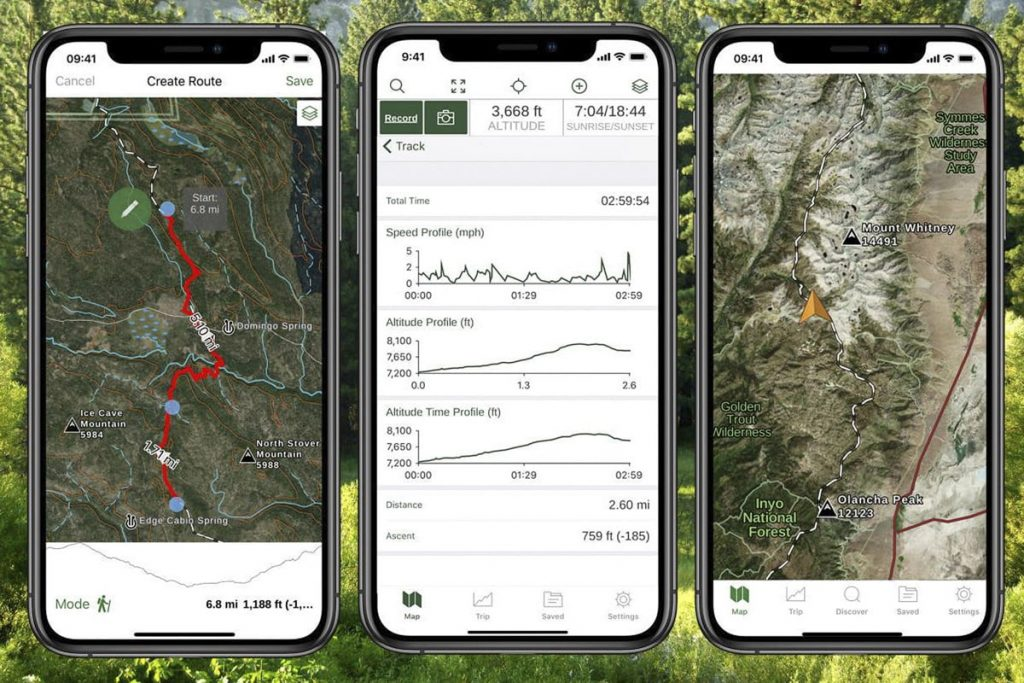 Best Road Trip Planner Apps to Help You Find and Track Hikes - Gaia GPS App