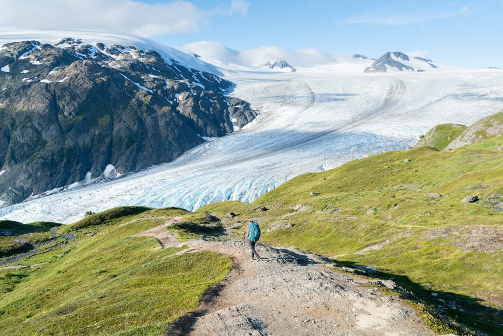 Hike Exit Glacier and Harding Icefield