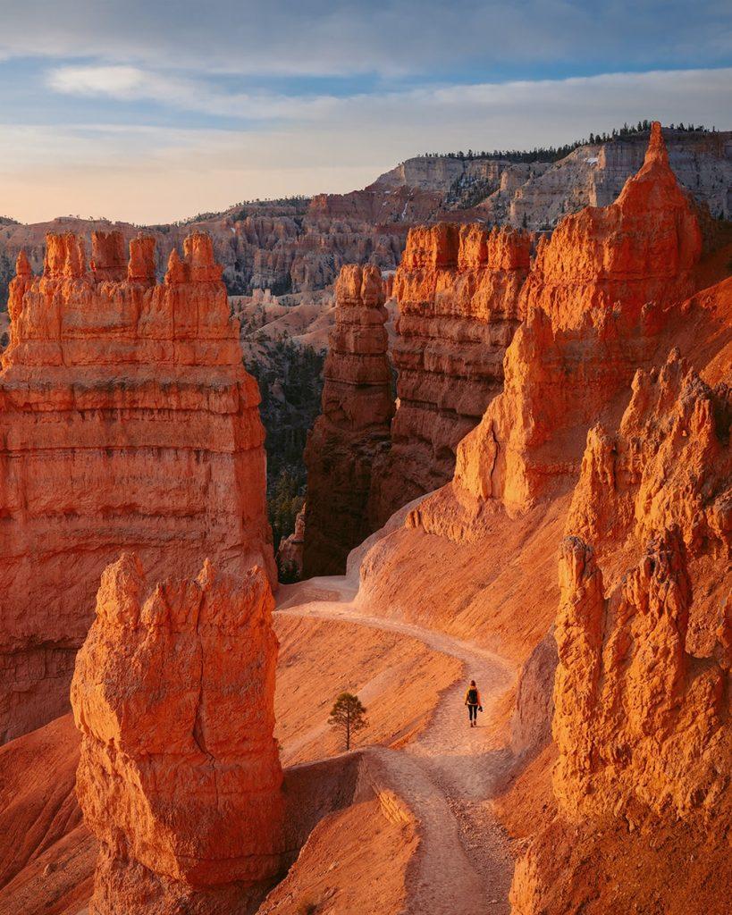 Ultimate Utah National Parks Road Trip Itinerary - Bryce Canyon National Park Navajo Trail