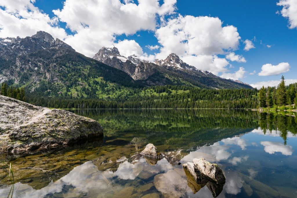 Ultimate Yellowstone National Park Guide and Itinerary - Taggart Lake