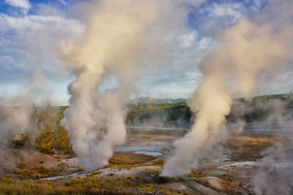 Ultimate Yellowstone To Grand Teton Road Trip Itinerary -Norris Geyser Basin