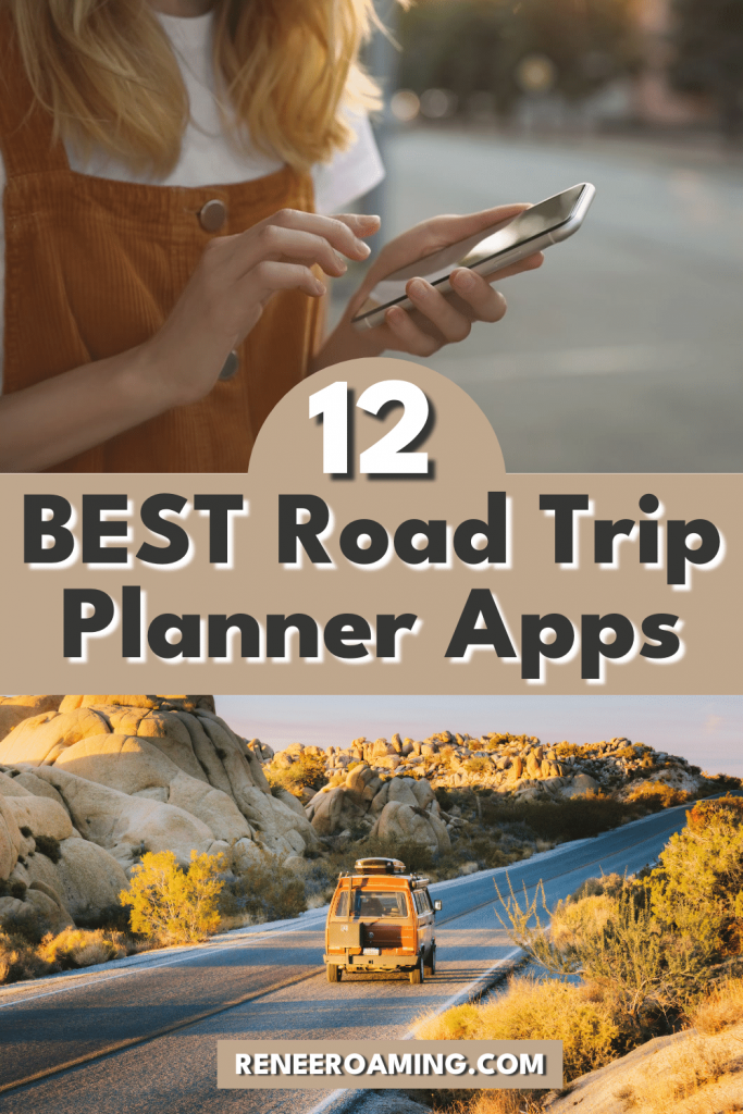 There are so many apps out there for you to use for travel planning but it can get a bit overwhelming when trying to find the right ones to use. In this trip planning guide, I'm sharing the 12 BEST road trip planner apps so that you don't have to do any unnecessary research! With these road trip planner apps you can find free campsites, cheap gas, hiking trails, better signal, and so much more. #roadtrip #travel #travelapps #roadtripapps #camping #hiking