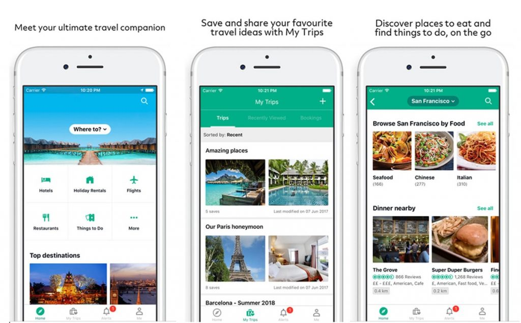 Best Road Trip Planner Apps To Find Accommodation and Places to Eat - TripAdvisor