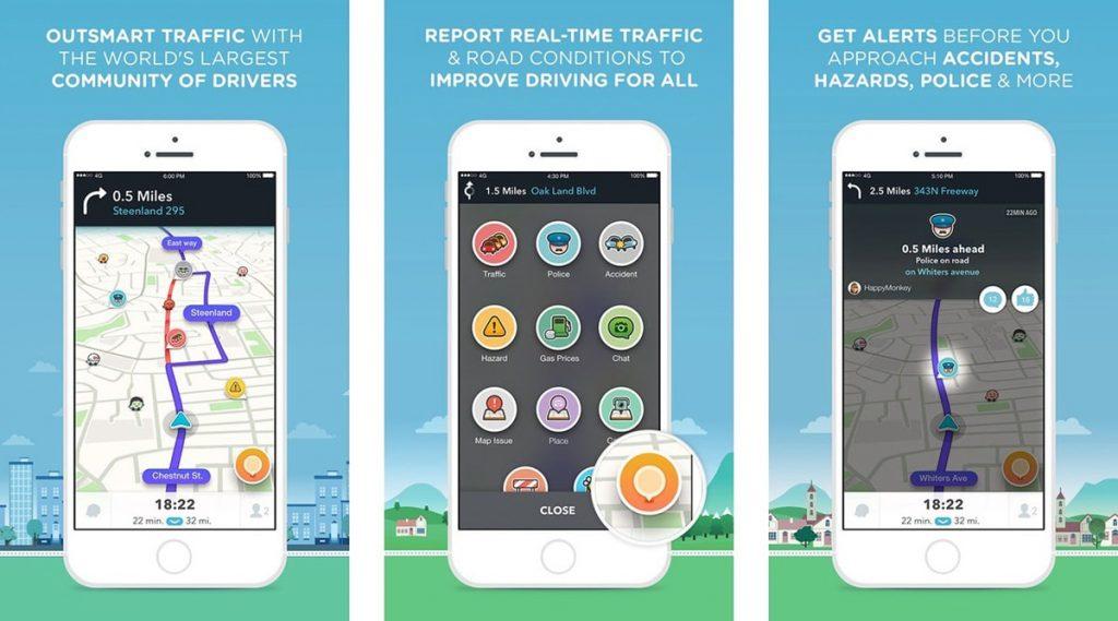 Best Road Trip Planner Apps to Help You Navigate Traffic - Waze